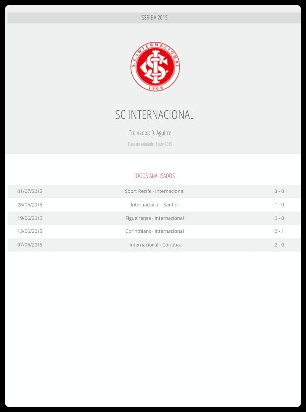 Inter - Jogos Analisados 04-07