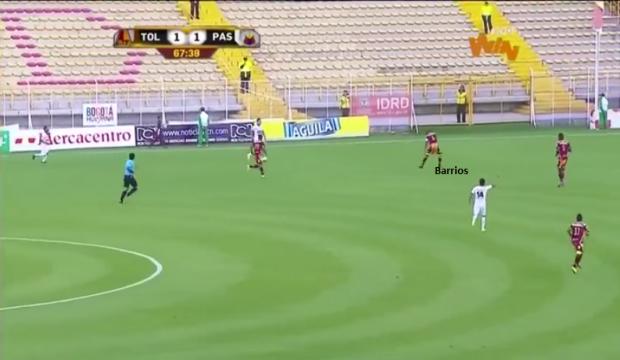 Barrios - Fase Defensiva - Equilibrio - segunda linha