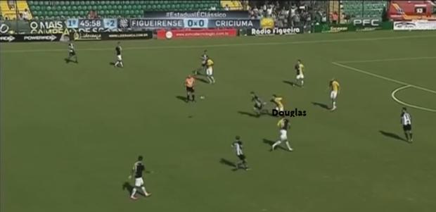 Douglas Moreira - Fase Defensiva - Marcação Próxima