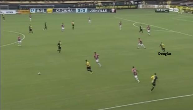 Douglas Moreira - Fase Ofensiva - Passa da Linha da Bola