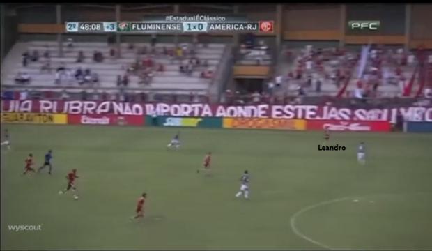 Leandro - Fase Ofensiva - Transição Esquerda