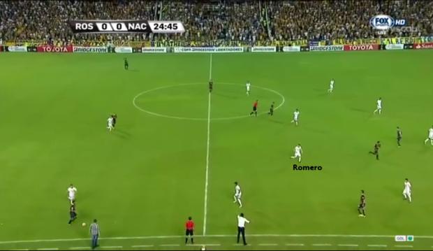 Romero - Fase Defensiva
