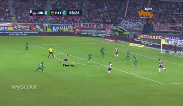 Sánchez - Fase Ofensiva - Finalização