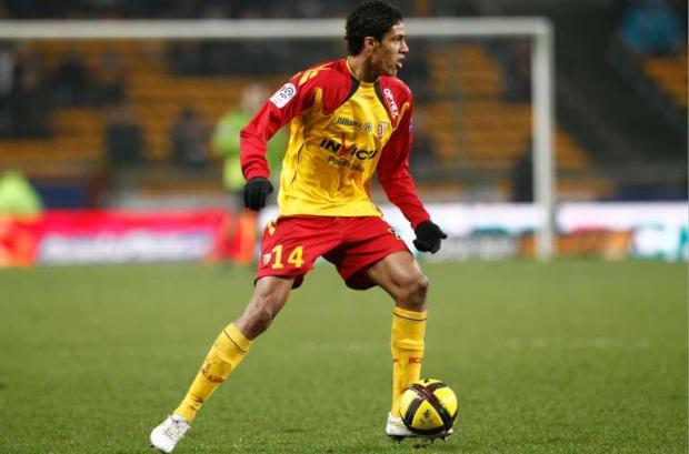 Football : Lens / Sochaux - Ligue 1 - 19.02.2011 - Raphael Varane (Lens)