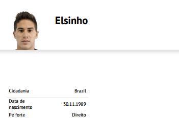 Elsinho perfil
