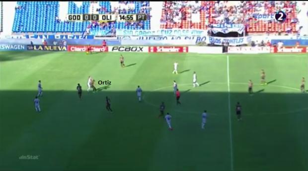 Ortiz - 1ª bola