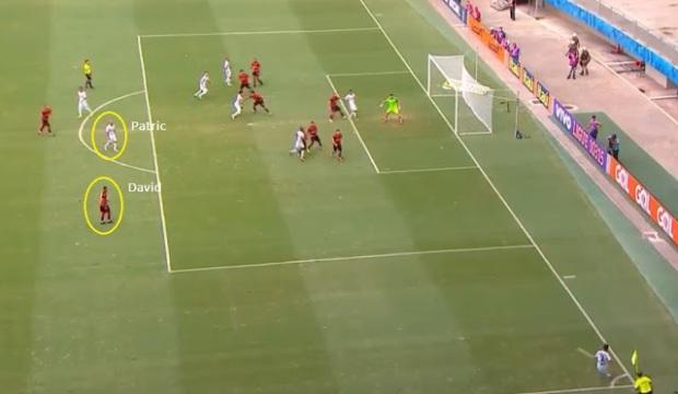 Gol Atlético-MG